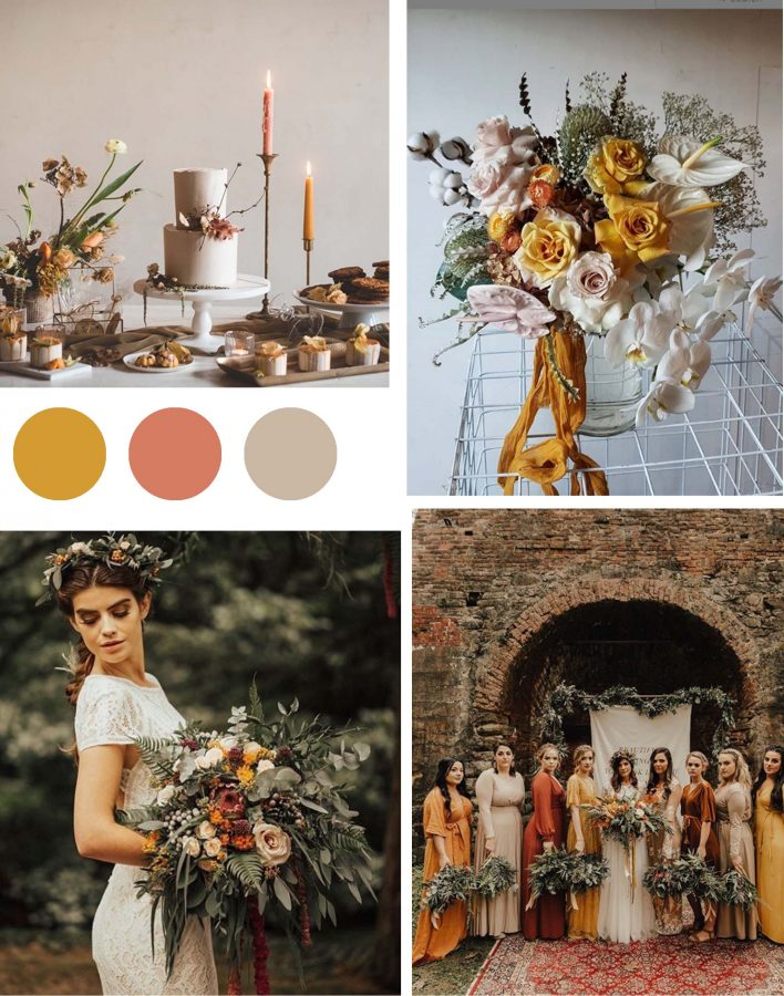 The Creative Colour Wedding Trends for 2019