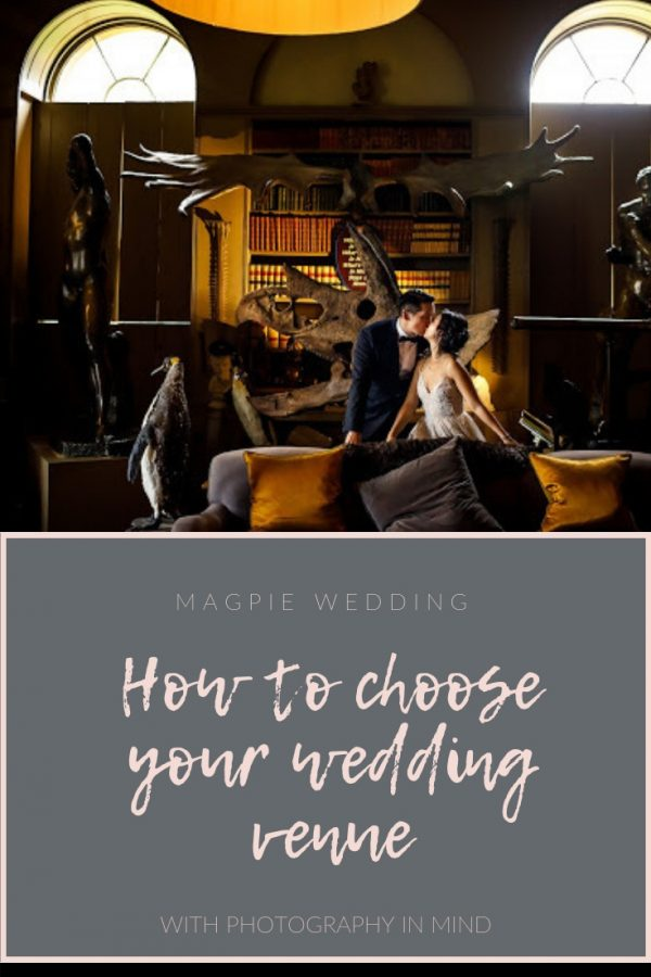 How to choose your wedding venue with the photography in mind