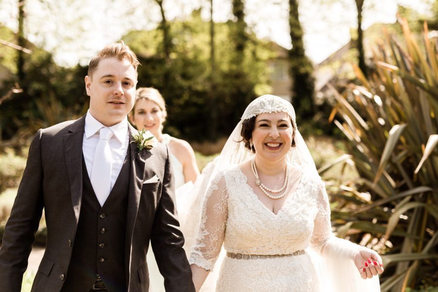 Vintage Art Deco Wedding at Charlton House with Authentic Styling