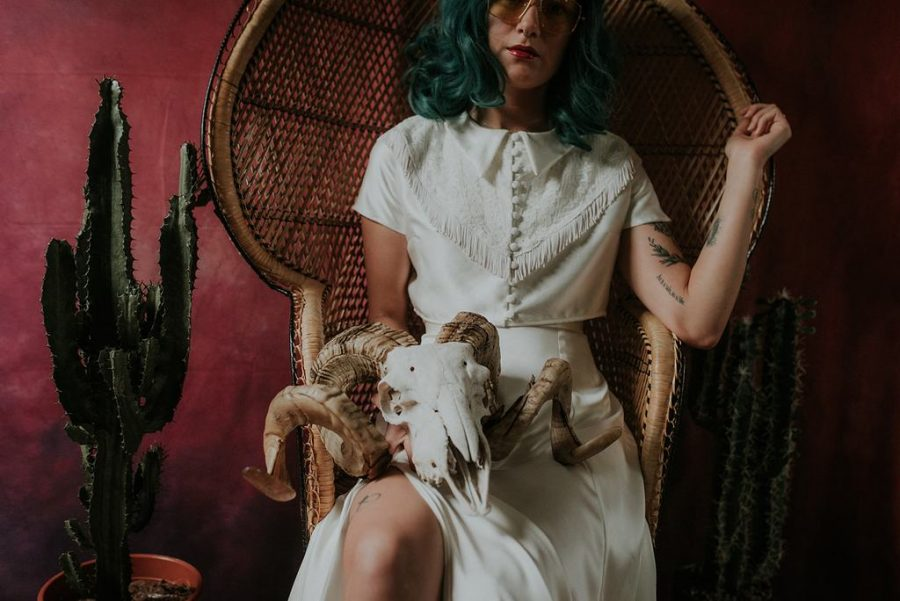 Bridal Separates - 'The Cosmic Rodeo' Collection by Lucy Can't Dance