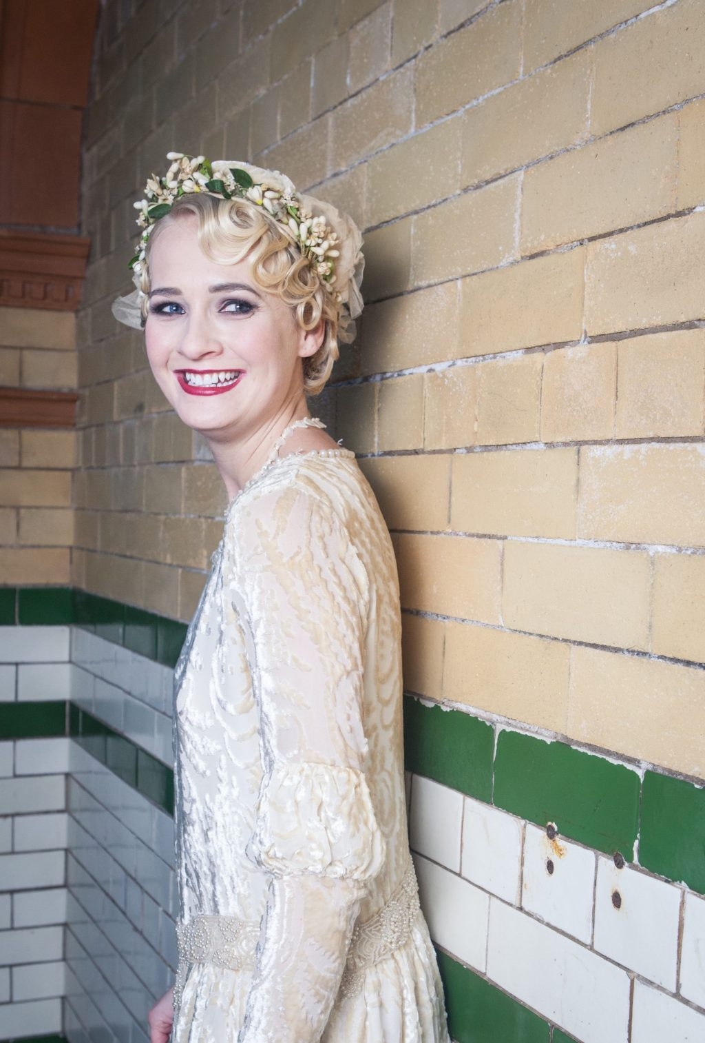 1920's Vintage Wedding Inspiration at Manchester Victoria Baths